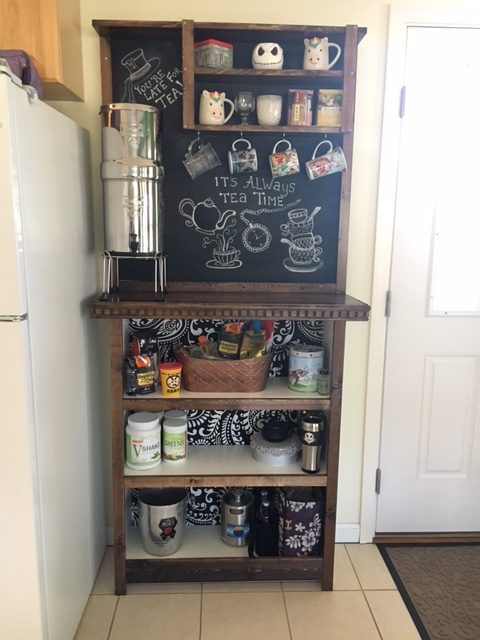 Fabulous Ikea BILLY bookcase turned at Home Coffee Bar Hack – Erika's Blog CM04